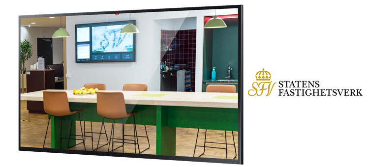 Statens fastighetsverk / National Property Board Sweden uses Smartsign for digital signage