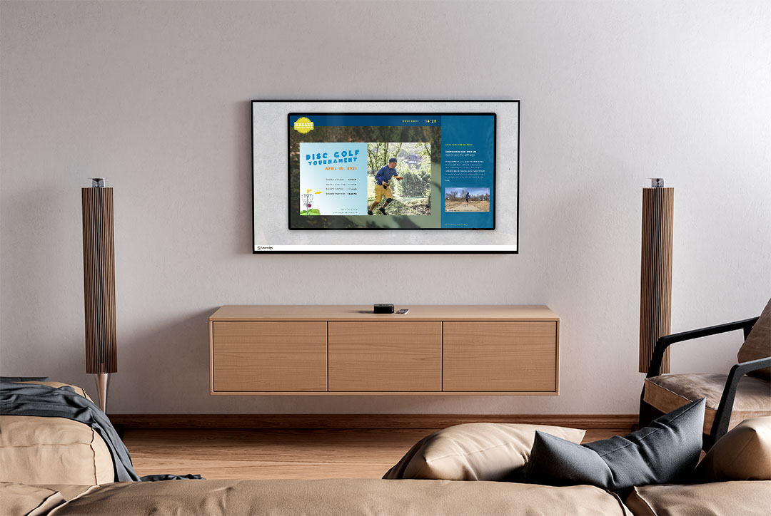 Smartsign Share in home environment